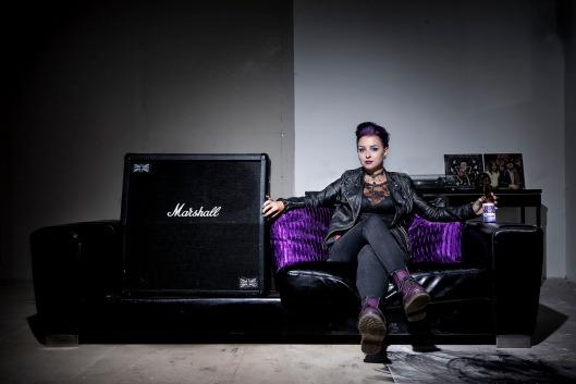 Heavymetale Max Gennel Purple 1200