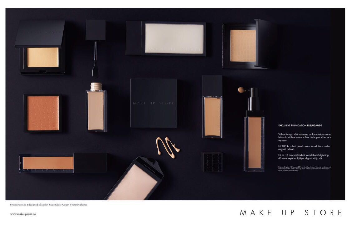 make up store erbjudande
